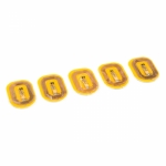 [로봇사이언스몰][Sparkfun][스파크펀] NFC LED Nail Sticker - Rainbow (5 Pack) sen-14888