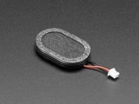 [로봇사이언스몰][Adafruit][에이다프루트] Mini Oval Speaker with Short Wires - 8 Ohm 1 Watt id:4227